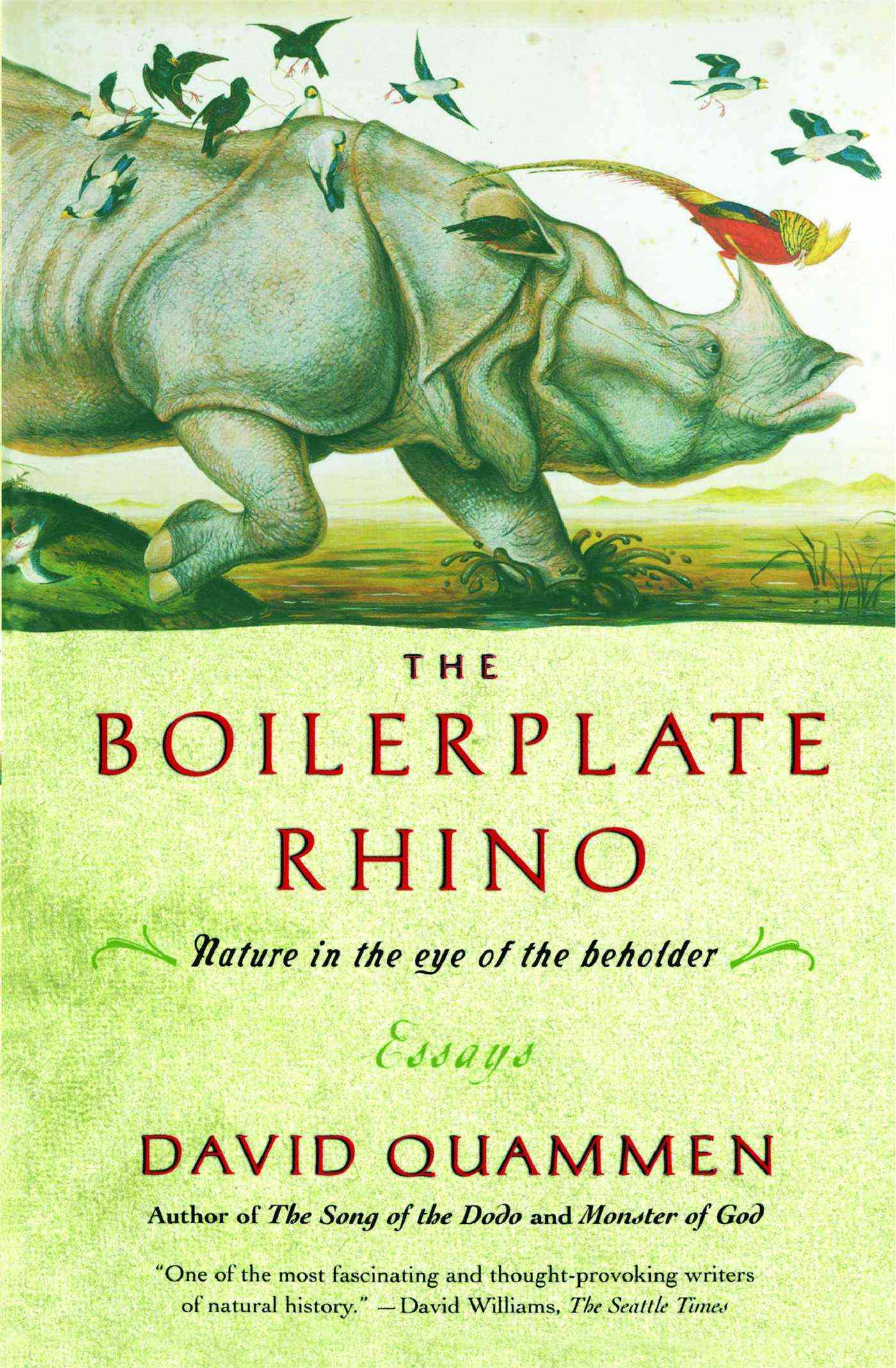 Boilerplate Rhino By Quammen, David